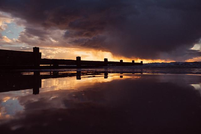 Stormy Totland Sunset - DSCF8225