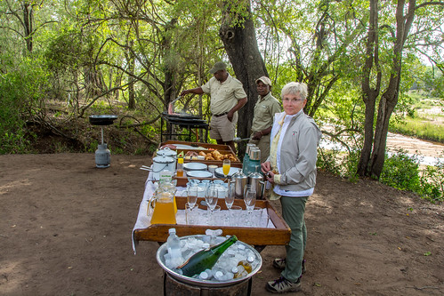 breakfast in bush | by barrypetersphoto