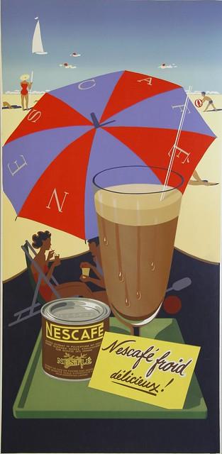 Nescafé ad, 1950
