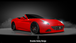 Ferrari California T - Ferris Bueller's Day Off | by Brandon Bailey Design/Photography