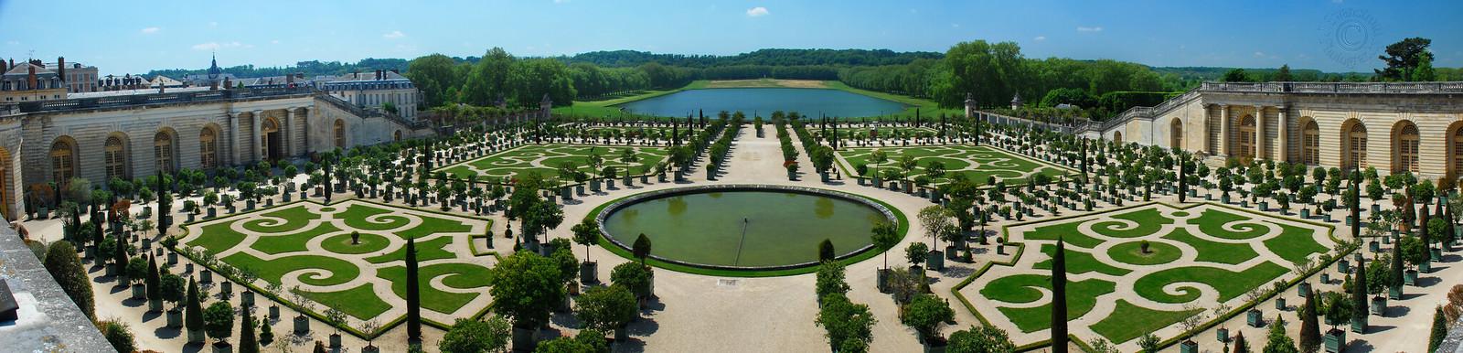 L'Orangerie - Le Château de Versailles (Pano)