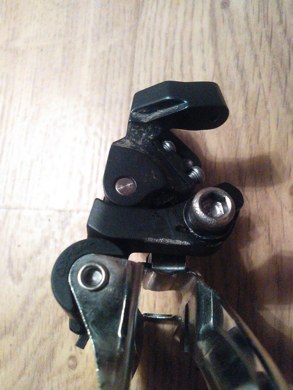 chain slap 2014 Shimano SLX FD-M671A --