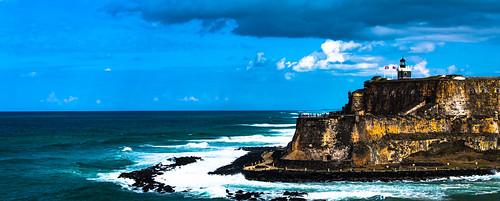 ocean sunset sea clouds puerto fort rico sanjuan k5 celebritycruises castillosanfelipedelmorro k5ii celebrityreflexion