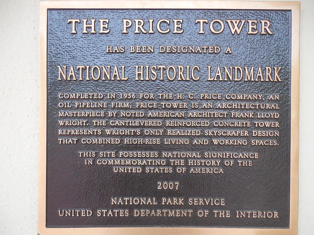 The Price Tower Marker