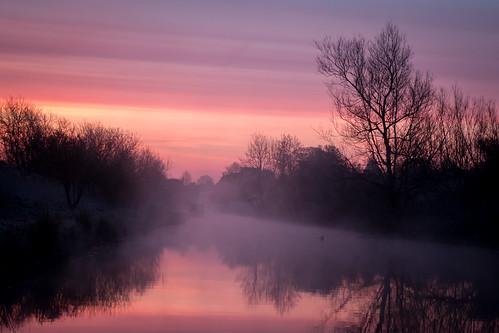 avon berkshire canal england europe gb greatbritain kennet kennetavon kintbury landscape reflection reflections sonyrx100iv sunrise uk unitedkingdom water fav10