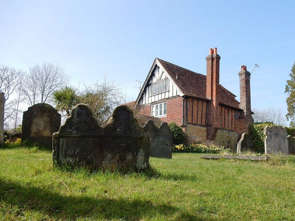 St Mary's churchyard, Speldhurst Ashurst to Eridge