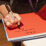 Jan Patience book signing   © Robin Mair