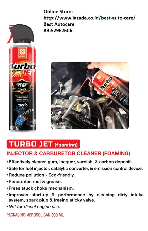 PRIMO TURBOJET (FOAMING INJECTOR CLEANER) | Foaming Injector… | Flickr
