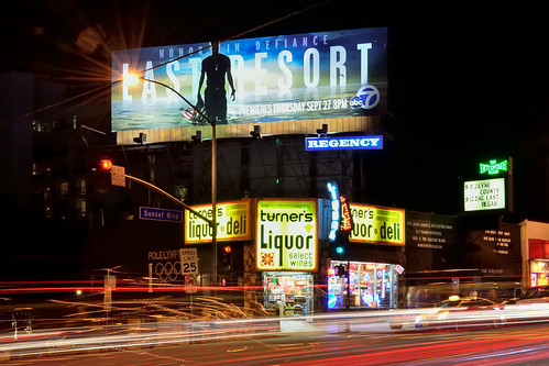 california longexposure light sunset signs west night dark typography la store losangeles los nikon long exposure neon boulevard angle graphic streak angeles text tripod letters wide trails wideangle billboard lookup liquor socal numbers strip hollywood storefront signage type intersection stoplight nikkor streaks viper westhollywood ultrawide nocturne blvd liquorstore lastvegas sunsetblvd turners viperroom weho typographic lastresort sunsetstrip larabee 18200mm angeleno terner eyetwist npy d7000 eyetwistkevinballuff 18200mmf3556gvrii