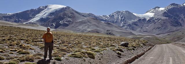 El Tapado Glacier, Chuck Sutherland, Coquimbo Region, High Andes, Chile