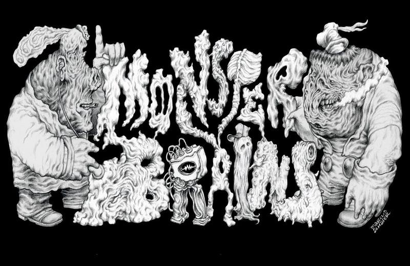 MONSTER BRAINS LOGO - Marcus Shafer