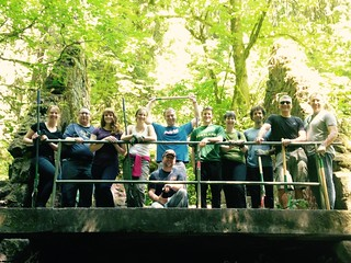 Forest Park Conservancy Trail Clearing_A Hardworking Group | by ClimateTrust