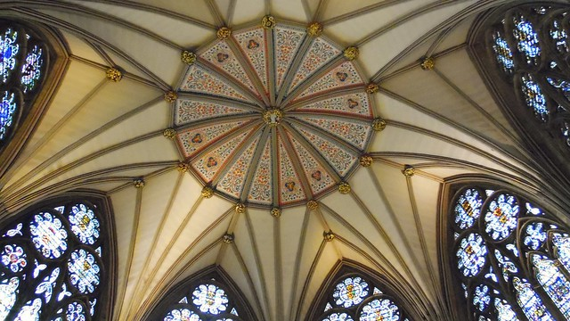 Chapterhouse Ceiling - York Minster