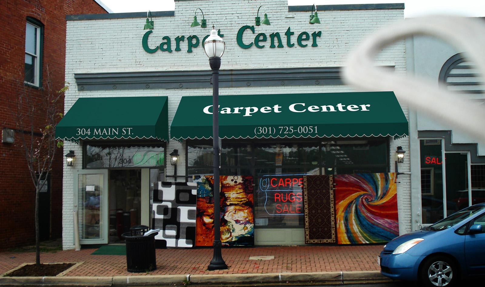 Carpet Center Digital Rendering