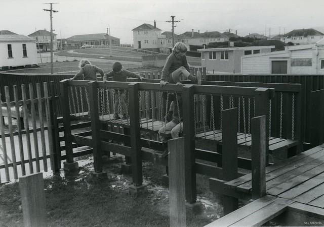 Bruntsfield Place Playground, Corstorphine 1978