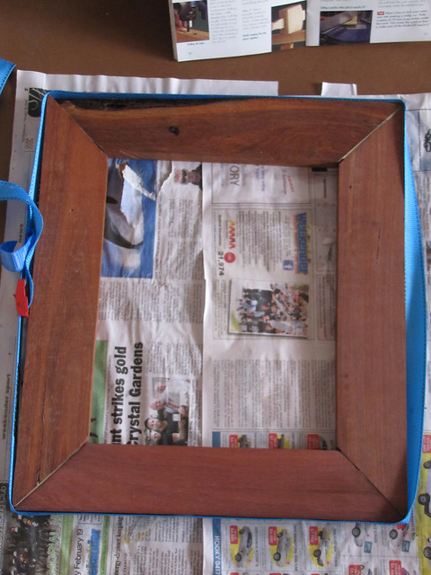 Setting a Rustic Picture Frame – Strawbale House Build in Redmond Western Australia