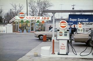 1972 or so - Clark Station