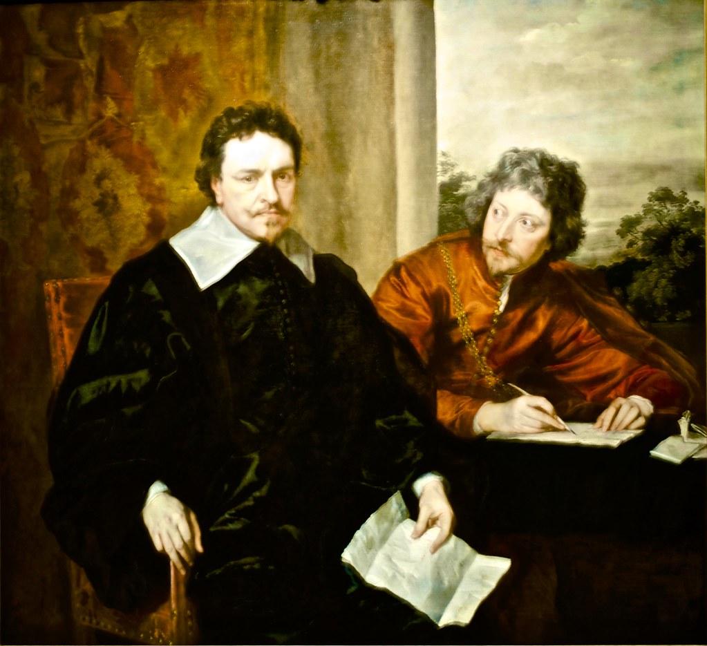Sir Anthony Van Dyck Charles I Canvas Print Museum Art Poster