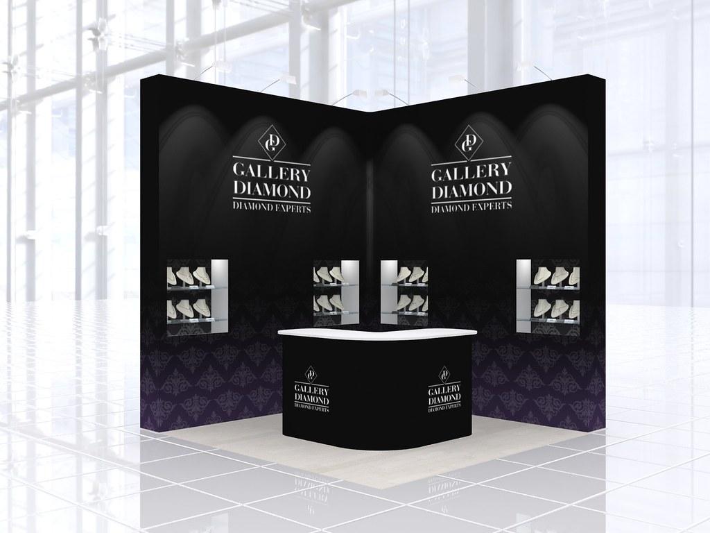 Exhibition Stand Design Gallery : Exhibition stand design for gallery diamond exhibition stau flickr