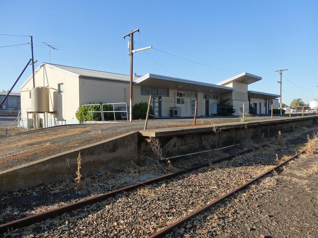 Naracoorte. The former railway...