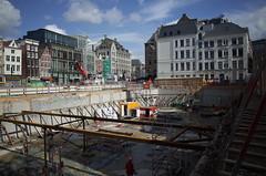 bouwput Rokin, July 2015