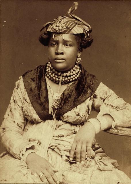 Martinique Woman, ca 1890