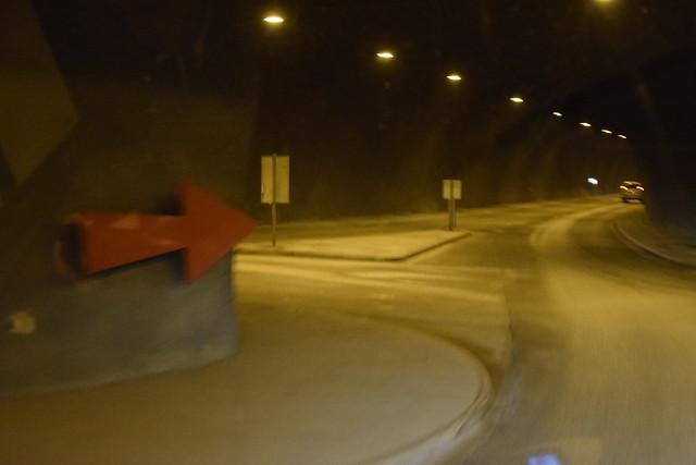 _DSC0087 Tromso et ses impressionnants tunnels avec carrefours, giratoires, etc.