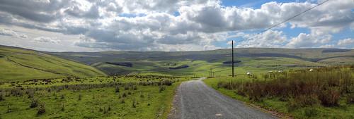 road uk england hills fells northyorkshire countryroad yorkshiredales malhamdale ruralroad fountainsfell nabend cowsidevalley