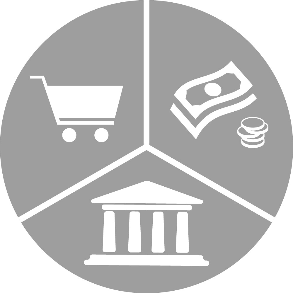 Icon For Category On Forum Called Markets Finance And Gov
