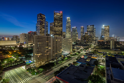 skyline sunrise canon cityscape bluehour dtla downtownskyline downtownlosangeles 1635mm losangelessunrise 5dmkiii ©shabdrophoto