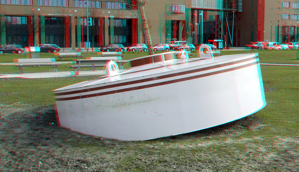 Drijvend Bos Rijnhaven Rotterdam 3D