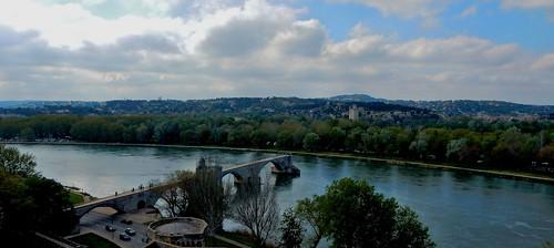 france rhône unesco frankrijk avignon vaucluse languedocroussillon medievalbridge zuidfrankrijk lepontdavignon pontsaintbénézet