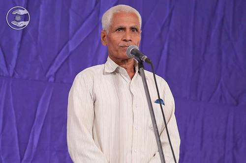 Ram Pratap Tiwari from Sangam Vihar expresses his views