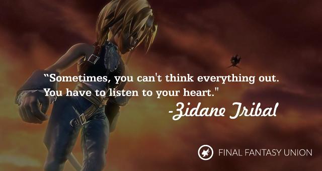 Inspirational Final Fantasy Quotes | Final Fantasy | Flickr