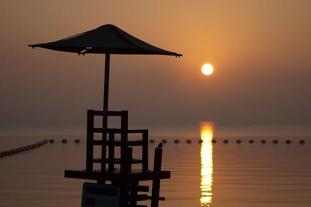Sunrise @Katara beach. Doha -Qatar
