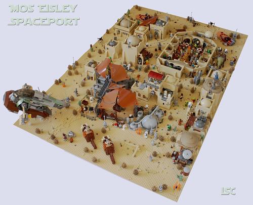 Mos Eisley Spaceport complete
