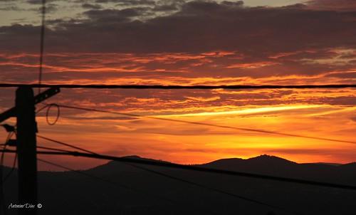 pordosol portugal paz nuvens fios anoitecer silêncio cabos aldeia beirabaixa sertã tonalidades eléctricos sarnadas antoninodias13