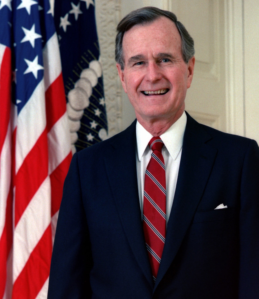 41 George H. W. Bush | George H. W. Bush, 1989. White House … | Flickr