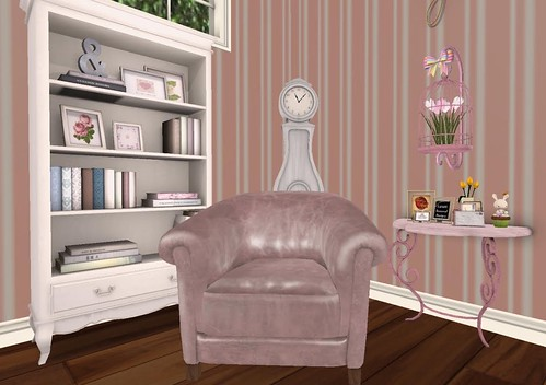 The Mustard Seed- Side Table (H&G Expo 2016) | by Hidden Gems in Second Life (Interior Designer)