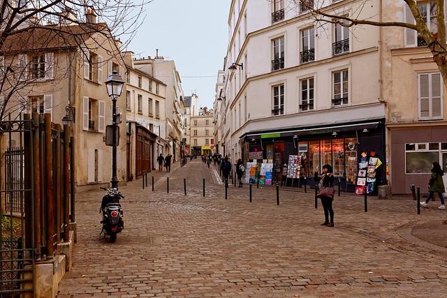Paris : Place des Abbesses / Rue la Vieuville