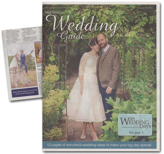 Isle of Wight County Press - Wedding Guide Front Cover
