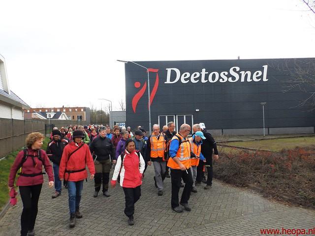 2016-03-23 stads en landtocht  Dordrecht            24.3 Km  (96)