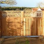 Oak Double gates