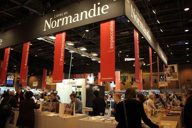 Livres en Normandie - Livre Paris 2016