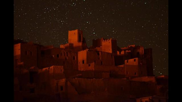 Stars over Aït Ben Haddou