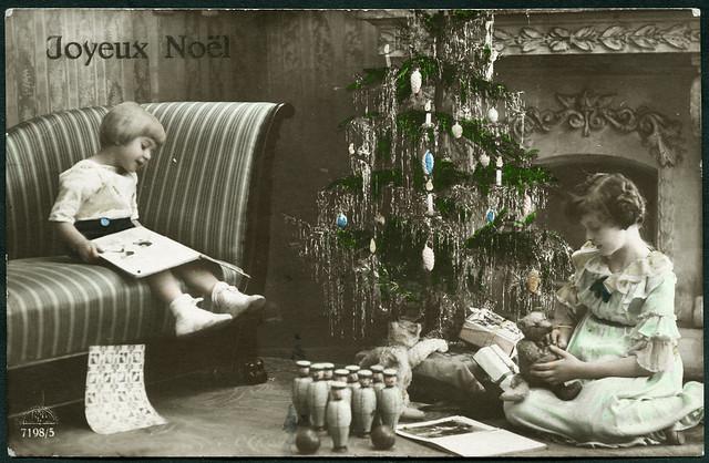 Archiv E089 Weihnachtskarte, Belgien, vom 24. Dezember 1920