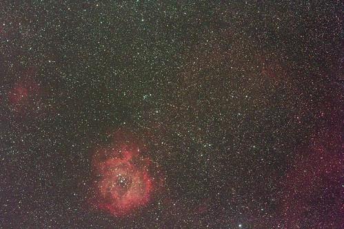 Rosette Nebula and cone nebula