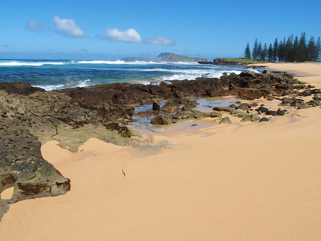 View from Cemetery Bay, Norfolk Island
