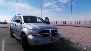 2008 Dodge Durango - on Jebel Hafeet, UAE, Feb 2016