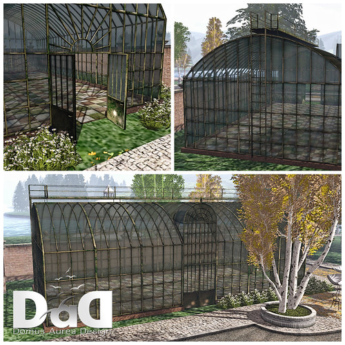 Antique Iron GreenHouse Collage | by Sheerpetal Roussel - DaD - virtual living -
